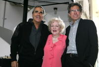 Tony Thomas, Betty White and Paul Junger Witt at the Golden Girls Reunion.