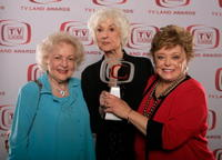 Betty White, Beatrice Arthur and Rue McClanahan at the 6th Annual TV Land Awards.