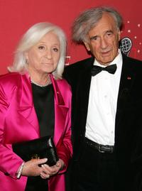 Marion and Elie Wiesel at the Time Magazine's celebration of 100 most influential people.