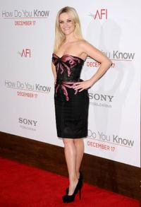 Reese Witherspoon at the California premiere of