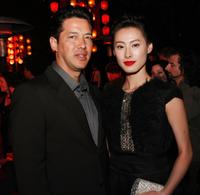 Russell Wong and Isabella Leong at the after party of the premiere of