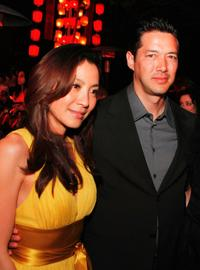 Michelle Yeoh and Russell Wong at the after party of the premiere of