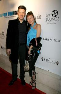 Russell Wong and Flora Zeta at the Reel Lounge Gala Benefit For The Film Foundation.