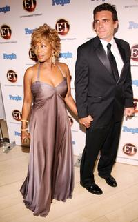Alfre Woodard and Roderick Spencer at the 10th Annual Entertainment night Emmy Party sponsored by People Magazine held at the Mondrian.