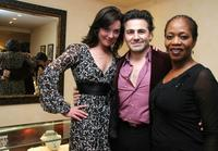Alfre Woodard, Ali Rahimi and Elisabeth Rohm at
