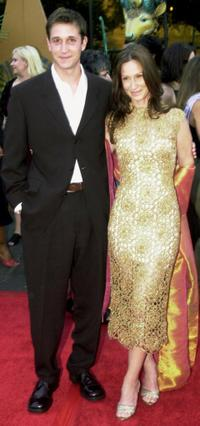 Noah Wyle and wife Tracy at the Planet Hope Benefit.