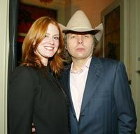 Kristen Huff and Dwight Yoakam at the LA.COM's launch party.