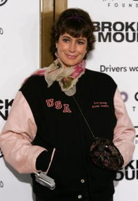 Sean Young at the premiere of