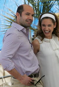 Billy Zane and Kelly Brook at the 60th International Cannes Film Festival.