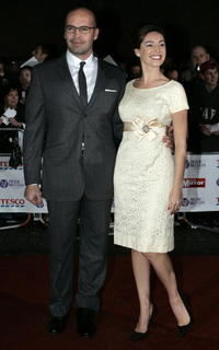 Billy Zane and his wife Kelly Brook at the Pride of Britain awards.