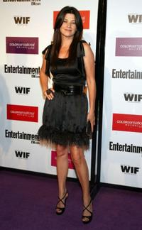 Daphne Zuniga at the Entertainment Weekly And Women In Film's Pre-Emmy Party.