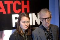 Woody Allen and his wife Soon-Yi Previn at the premiere of