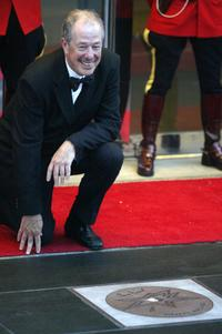 Denys Arcand at the Canadian Walk of Fame.