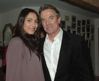 Raya Meddine and Eric Braeden at the after party of the premiere of