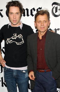 Mikhail Baryshnikov and Rufus Wainwright at the 6th Annual New York Times Arts & Leisure Weekend.