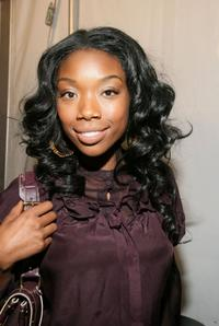 Brandy at the W VIP lounge during the Olympus Fashion Week.