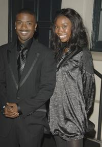 Ray J and Brandy at the launch party for Our Stories Films at Social.