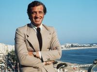 Jean-Paul Belmondo at the Cannes Film Festival.