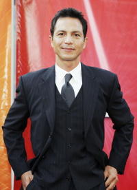 Benjamin Bratt at NBC's '2005 All Star Celebration' for the TCA Summer Tour in Los Angeles.