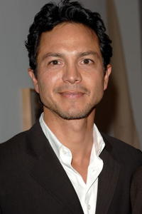 """Benjamin Bratt at the private opening of """"A Survey"""" exhibit in Los Angeles."""