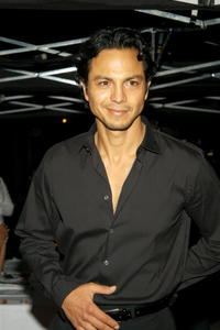 Benjamin Bratt at the party for GQ's new editor-in-chief Jim Nelson in New York City.