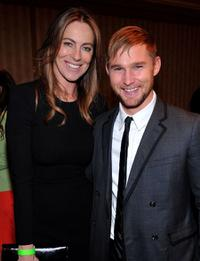 Kathryn Bigelow and Brian Geraghty at the 35th Annual Los Angeles Film Critics Association Awards.