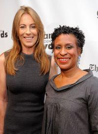 Kathryn Bigelow and Michelle Byrd at the IFP's 19th Annual Gotham Independent Film Awards.