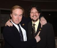 Brad Bird and Michael Giacchino at the 30th Annual Los Angeles Film Critics Association Awards.