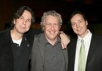 Producer Bobby Farrelly, Barry W. Blaustein and Producer Peter Farrelly at the after party of the premiere of