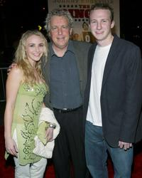 Barry W. Blaustein and his family at the premiere of