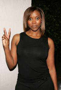 Erika Alexander at the Worldwide V-Day Campaign presentation of The Vagina Monologues.