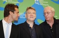 Kenneth Branagh, Jude Law and Michael Caine  at the photocall of his movie in competition
