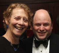 Jason Alexander and Naomi Foner Gyllenhaal at the 20th Annual USC Libraries Scripter Award ceremony.