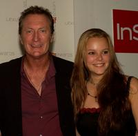 Bryan Brown and Guest at the 2003 LEXUS IF (Inside Film) Awards.