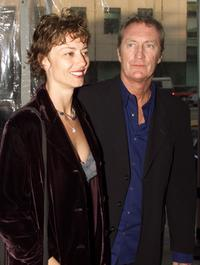 Bryan Brown and Rachel Ward at the premiere screening of