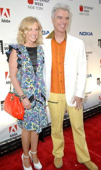 Cindy Sherman and David Byrne at the 12th Annual Webby Awards.