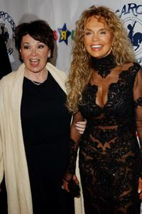 Dyan Cannon and Roseanne at the Beverly Hilton Hotel for the