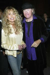 Dyan Cannon and Henry Jaglom at the Directors Guild of America for the film premiere of