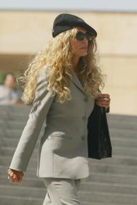 Dyan Cannon at Mass Memorial for actor Gregory Peck at Los Angeles.