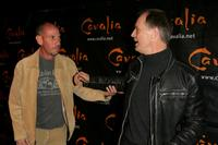 Keith Carradine and Miguel Ferrer at the opening night of Cavalia to benefit the American Human Association.