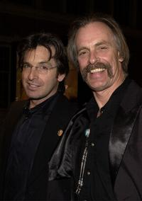 Keith Carradine and Robert at the premiere of the TNT television movie