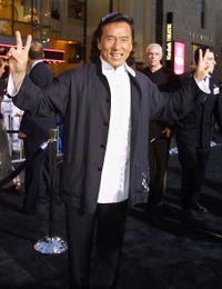 Jackie Chan at the Hollywood premiere of