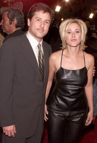 Steve Brill and his wife Leah at the premiere of