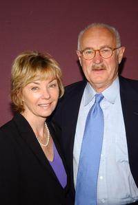Dabney Coleman and Kathleen Carter at the world premiere of
