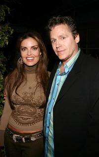 Tracy Scoggins and Jeff Conaway at the AOL and Warner Bros. Launch of In2TV.