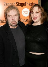 Kevin Conway and Geraldine Newman at the opening night of the play