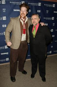 Brian Cox and Sheamus O' Shaunessy at the premiere of