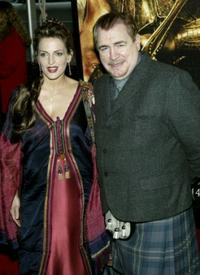 Brian Cox and guest at the premiere of