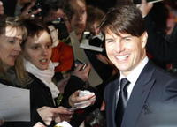 Tom Cruise at the Berlin premiere of
