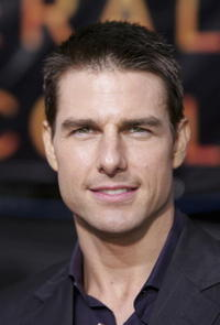 """Tom Cruise at the World Premiere of """"Collateral"""" in Los Angeles."""